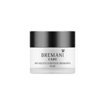 Eye Contour Cream BREMANI CARE(Антивозрастной крем для кожи вокруг глаз SPF15 40+)